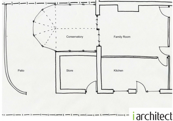 Existing Ground Floor Sketch Plan