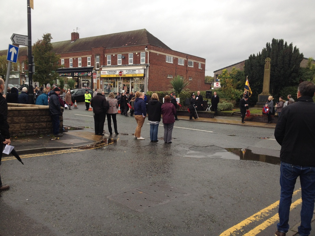 Northenden Remembrance Day November 2015