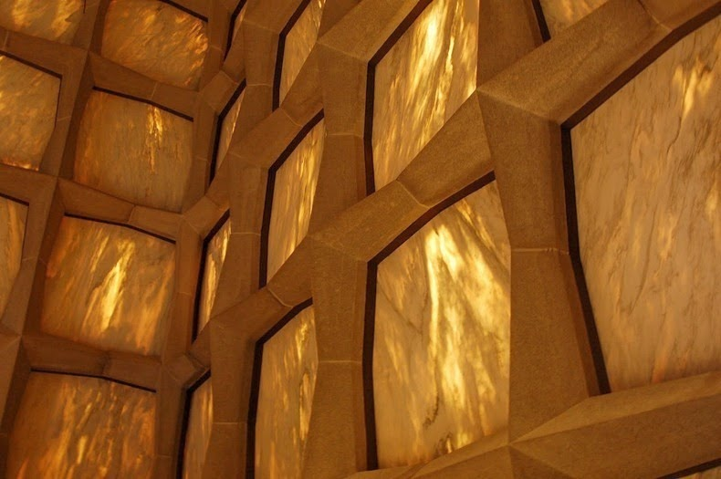 Beinecke Library Wall Detail